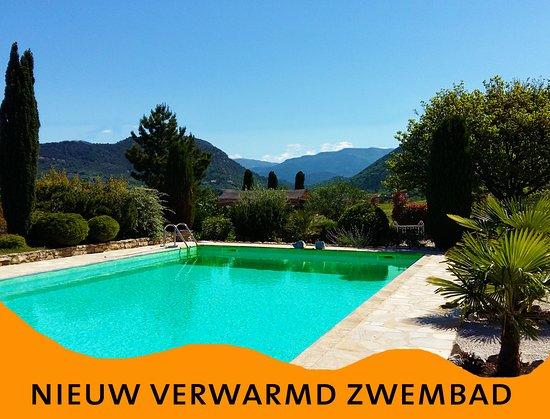 Mollans sur Ouveze, Γαλλία: nieuw verwarmd zwembad