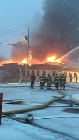 Pinckneyville, IL: December 2017 - Fire destroyed the newly remodeled building