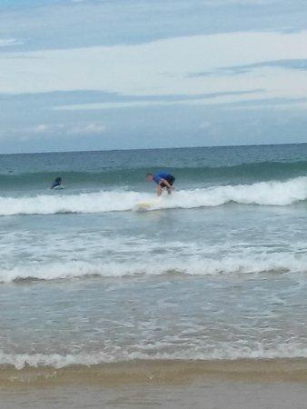 Vielle-Saint-Girons, France : cours de surf pris en 2015 chez max respect St girons plage