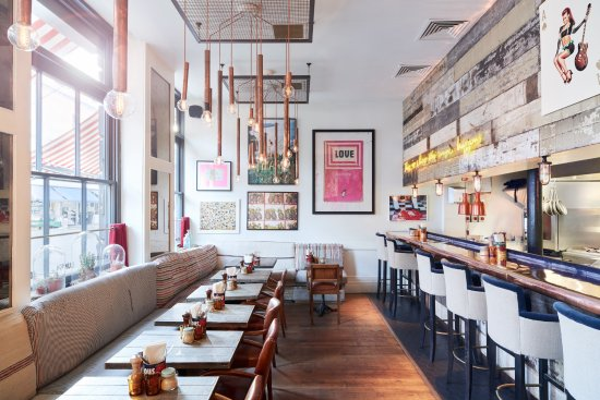 The Cambridge Street Kitchen - Picture of Artist Residence London ...