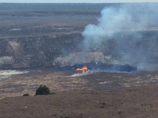 Ookala, Hawaje: Active Halemaumau crater
