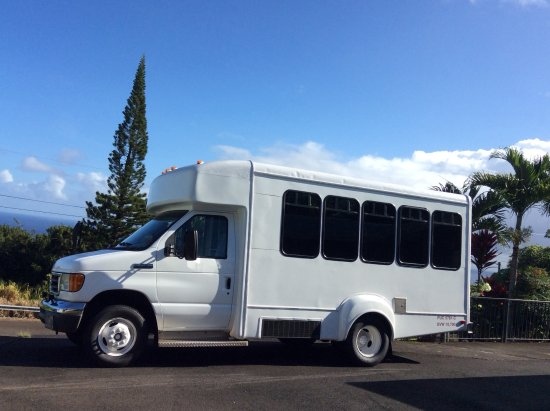 Ookala, HI: Miranda's Big Island, Hawaii Tour Company Bus