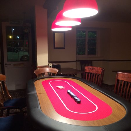 Exminster, UK: Excellent venue for Texas hold em. 👍