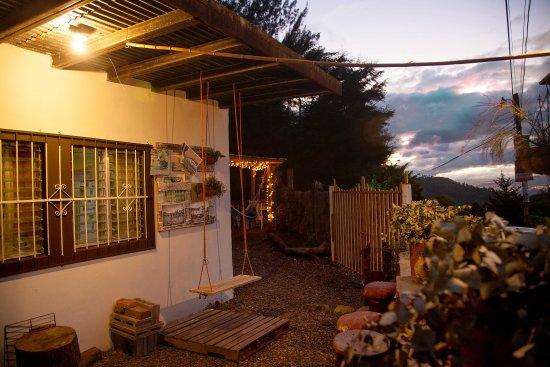 Santa Lucia, Honduras: Precioso atardecer en Sabaneta!
