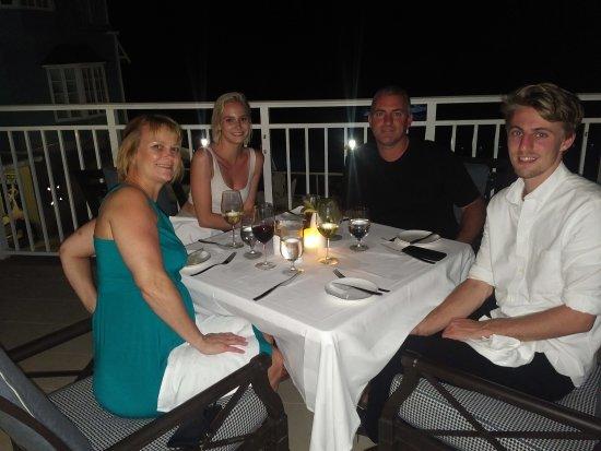 Boscobel, Jamaica: The Patio at the Parisienne Restaurant