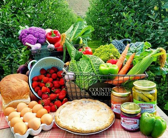 Horstings Farm Market: Farm fresh produce