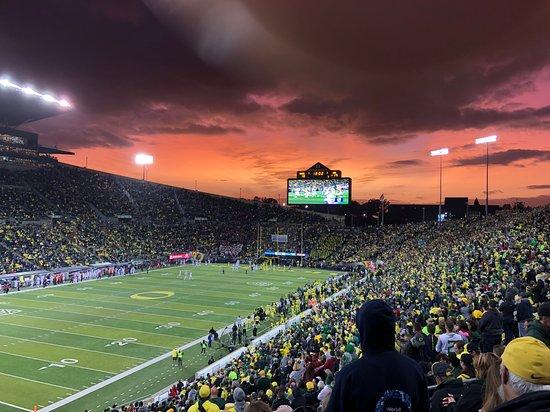 Eugene, OR: Autzen Stadium. Photo by Peter Callero