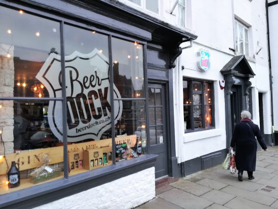 Leek, UK: The outside of The BeerDock