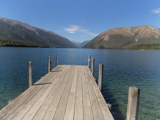 Saint Arnaud, Nueva Zelanda: The dock at Lake Rotoiti