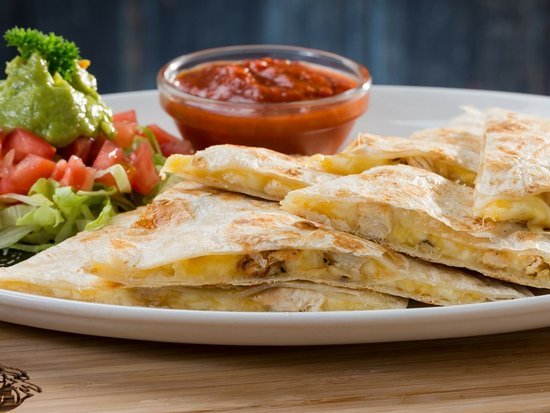 Shelly Beach, South Africa: Quesadillas