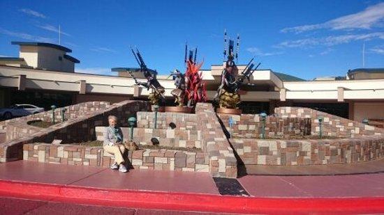 Mescalero, NM: Entrance