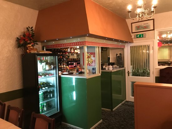 Broseley, UK: Bar Area