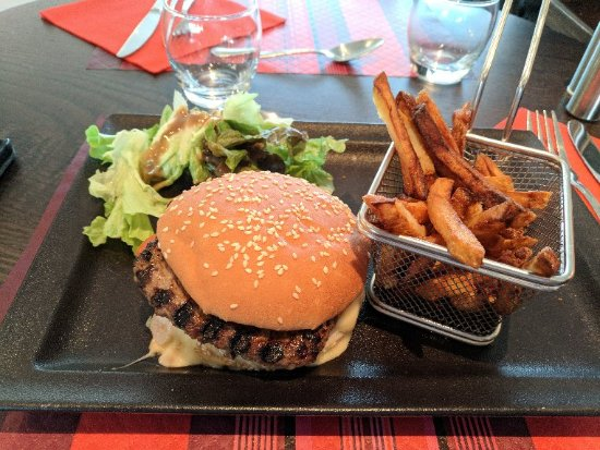 Saint Pierre des Corps, France: Burger du Parvis