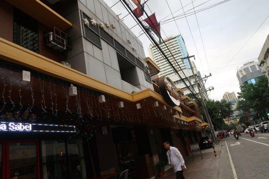 Casa Bocobo Hotel: outside