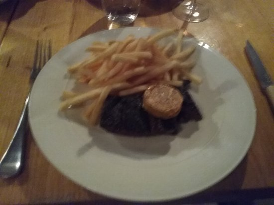 Waverley, Australien: Steak , frites and Cafe de Paris butter.