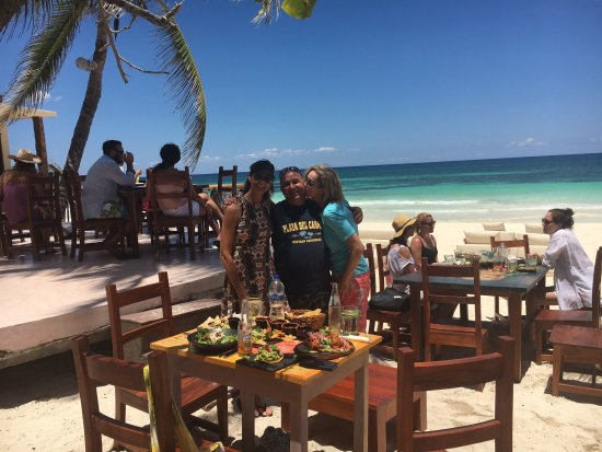Maya Can Eco Tours : FUN in Tulum... and look at that lunch!