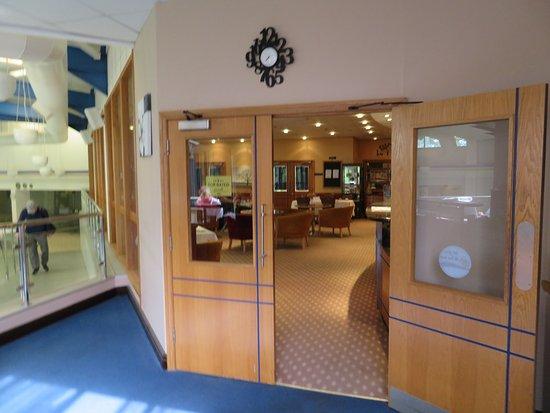 The Spa at Brook Mollington Banastre Hotel: Entrance