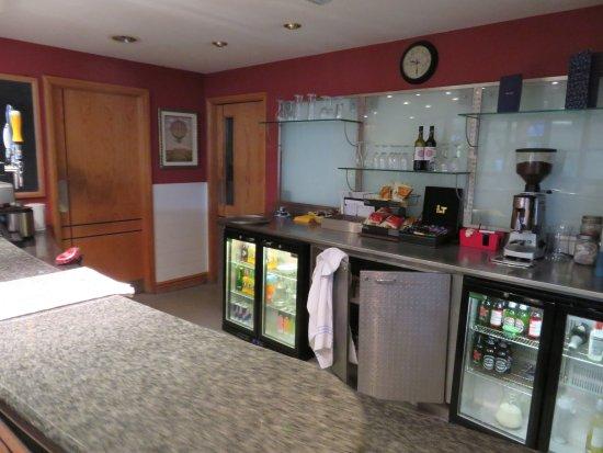 The Spa at Brook Mollington Banastre Hotel: Waiting Area
