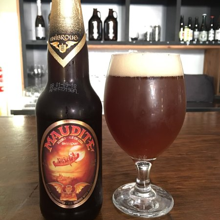 Fitzroy, Australia: The Unibroue. Thought to be sold out in Australia. Find it at Slowbeer.