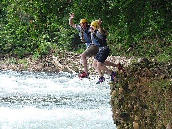 La Virgen, Costa Rica: Sarapiqui River the biggest and cleanest of the area for white water rafting