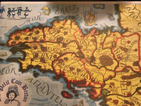 Map of Breton - Picture of Au Pe Coin Breton, Quebec City ... Quebec City Tour Map on cambridge tour map, montreal quebec map, granby quebec map, dublin tour map, edinburgh tour map, civitavecchia tour map, paris tour map, haifa tour map, gatineau quebec map, vieux quebec map, sydney tour map, new york tour map, california tour map, reykjavik tour map, miami tour map, tokyo tour map, canada tour map, old montreal walking tour map, cairo tour map, bangkok tour map,
