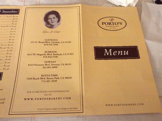Porto S Bakery Amp Cafe Glendale Ristorante Recensioni