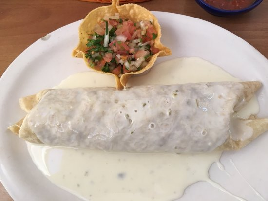Simpsonville, Karolina Południowa: burrito loco with pico