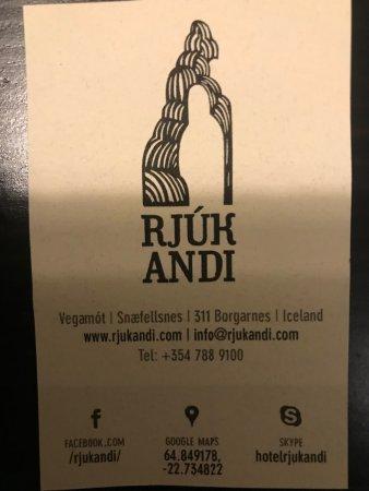 Borgarnes, Islandia: Hotel info