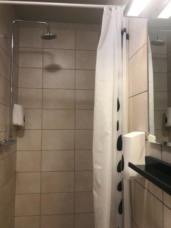 Borgarnes, Islandia: The shower