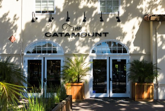 Front entrance and patio entrance - Picture of The Catamount, Los ...