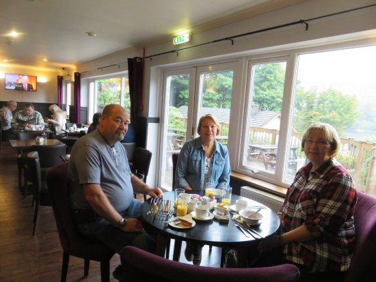 North Ballachulish, UK: Our table at breakfast (B&B Package)