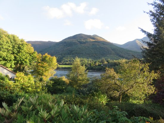 North Ballachulish, UK: View from our Balcony on a sunny day!