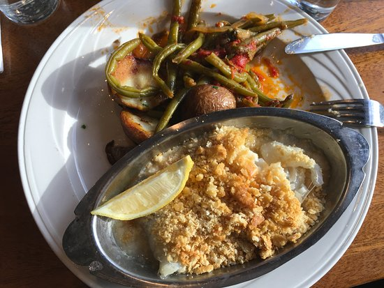 Lepage's Seafood & Grille: baked cod