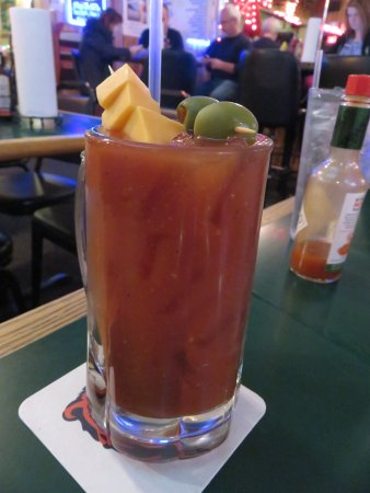 Mount Vernon, IL: Bloody Mary Special...a meal in itself!