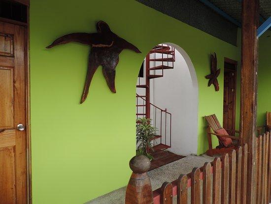 Orotina, Kostaryka: entrée des chambres