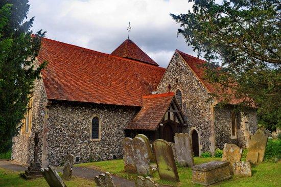 St Nicholas' Church in Thanington, Kent.