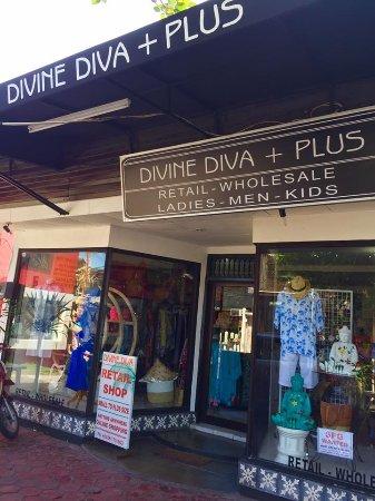 Divine Diva Seminyak Bali Front Shop