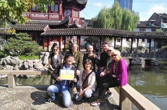 12-dagers liten gruppe tur: Shanghai...