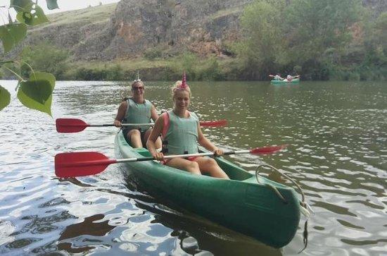 Kayak trip in Madrid