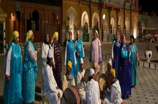Fantasia marocaine et dîner et...