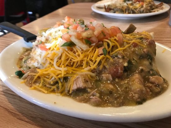Coffee Cup: Smothered Burrito - delicious!
