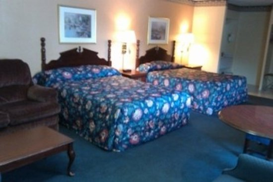 Discovery Inn Ukiah, CA : Guest room