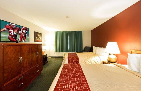 guest room obr zok red roof inn fulton fulton tripadvisor. Black Bedroom Furniture Sets. Home Design Ideas