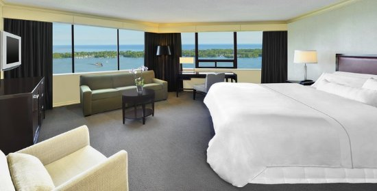 The Westin Harbour Castle, Toronto: Guest room