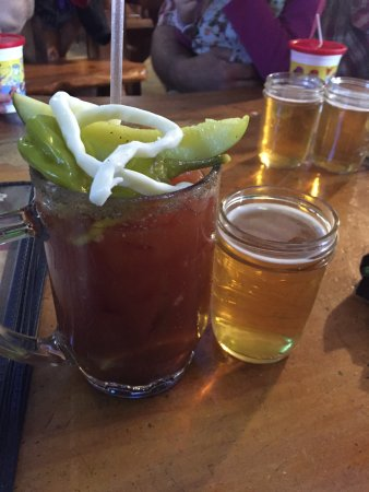 Stevens Point, WI: Bloody Mary without the Beef Stick