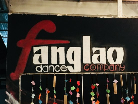 Vientian, Laos: fanglao dance in ASEAN mall - performances, workshops etc.