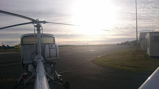 Elite Helicopter Services: Morning glory