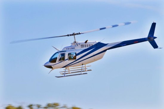 Elite Helicopter Services: Bell 206 jetranger can carry 4 passengers