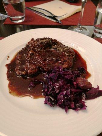 Argentoratum: Steak with foie gras