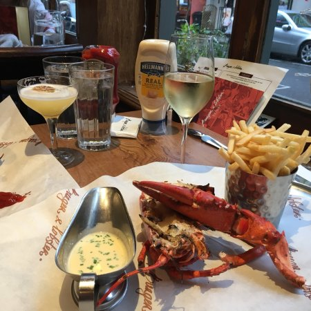 Restaurants burger lobster in city of london westminster for American cuisine in london